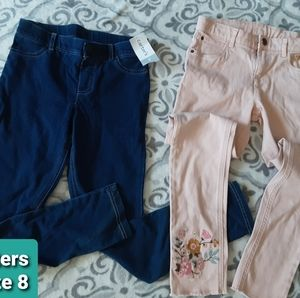 Girls Embellished Carters Jeans Size 8 NEW!!!